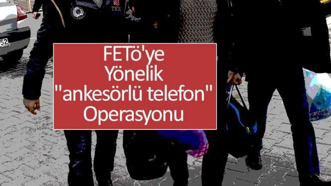 Samsun Haberleri: 'Ankesörlü Telefon' Operasyonu