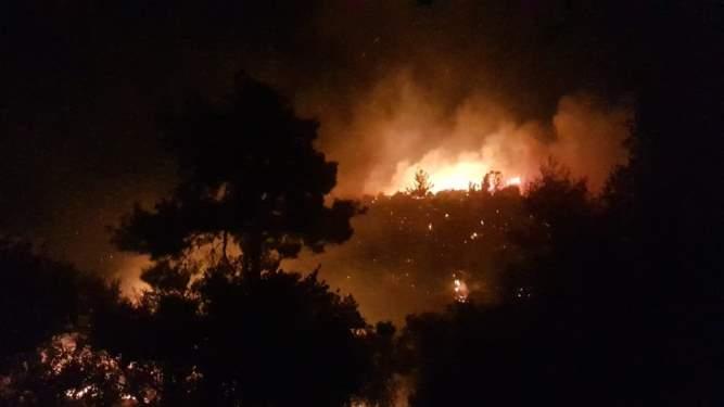 4 Mahallede Yangın Paniği!
