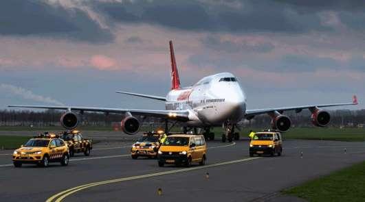 Amsterdam otobanı dev jumbo jetin geçişi için hazırlanacak