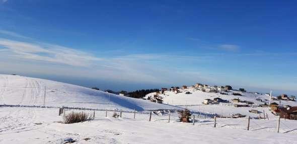 Hıdırnebi Yaylası'nda kayak sporu için elverişli yerler araştırıldı