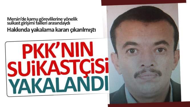 PKK'nın suikastçisi yakalandı