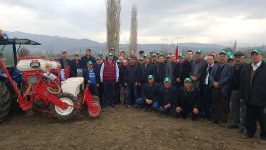 Kayseri Şeker'den Amasya Köylerinde Tarla Günü Etkinliği