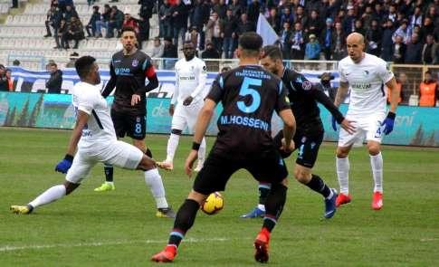 Spor Toto Süper Lig: BB Erzurumspor: 0 - Trabzonspor: 0 (İlk yarı)