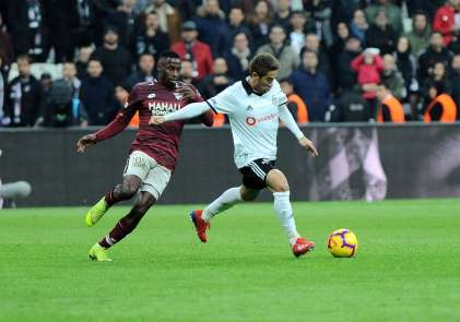Spor Toto Süper Lig: Beşiktaş: 1 - Göztepe: 0 (Maç sonucu)