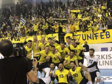 AXA Sigorta Erkekler Kupa Voley: Halkbank: 1 - Fenerbahçe: 3