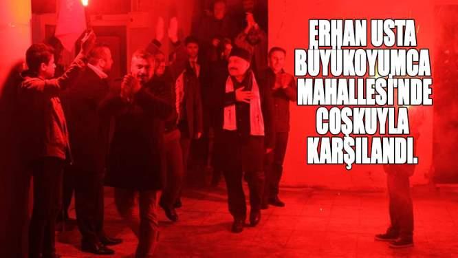 'Erhan Usta adaylıktan çekilmiyor'