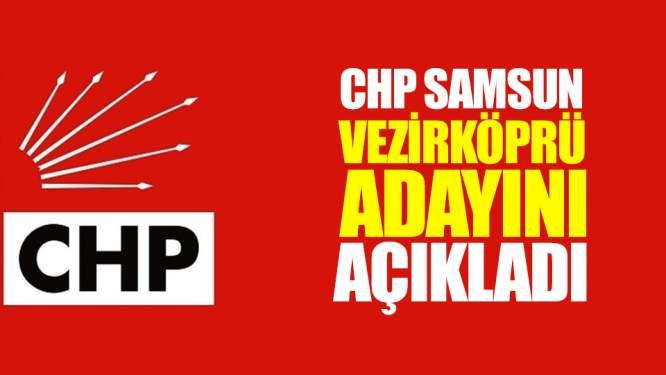 CHP Vezirköprü Adayını Açıkladı