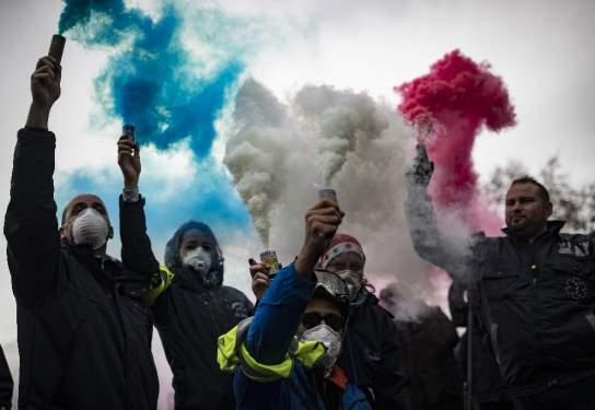 Fransa'daki Eylemler Sürüyor