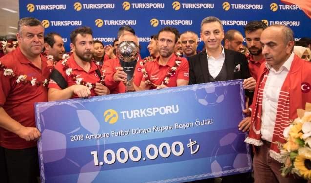 Kahraman Oyunculara 1 milyon TL Ödül