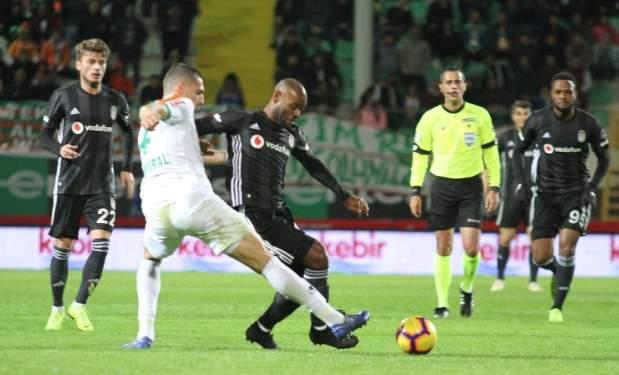 Beşiktaş Alanya'da Takıldı