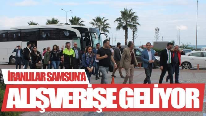 İranlılar Samsun'a Alıverişe Geliyor!