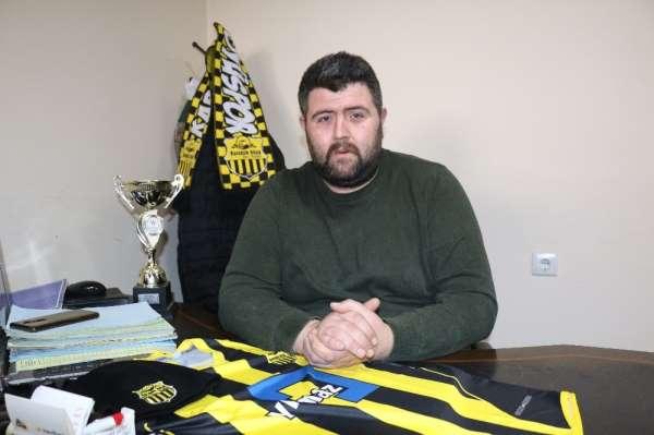 Karabük Köyü Spor Kulübü Başkanı Korkut: 'Her şekilde sorumluluk almaya hazırız'