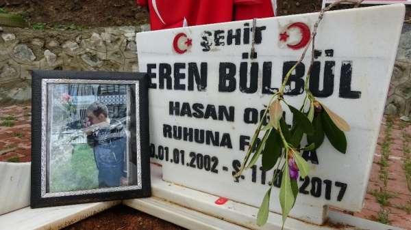 Şehit Eren Bülbül doğum gününde unutulmadı