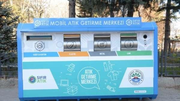 Suluova'da 5 mahalleye 'Mobil Atık Getirme Merkezi'