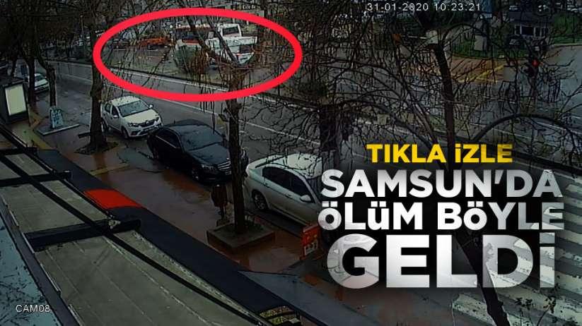 Samsun'da kaza ölümle sonuçlandı