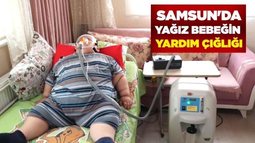 Samsun'da Yağız bebeğin yardım çığlığı