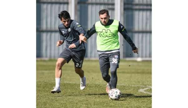 Bursaspor'da Boluspor maçı hazırlıkları başladı