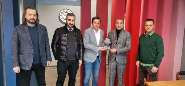Hacıkerimoğlu TSYD Trabzon Şubesini ziyaret etti