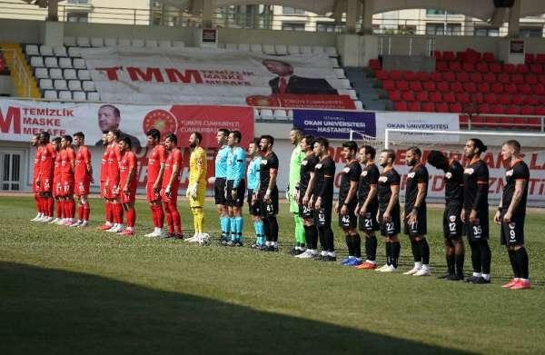 TFF 1. Lig: Tuzlaspor: 1 - Adanaspor: 1 (Maç devam ediyor)