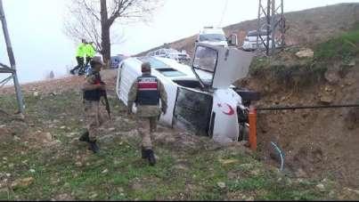 Bayburt'ta 186 adet ölümlü, yaralanmalı trafik kazası meydana geldi