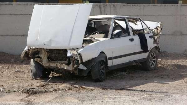 Kayseri'de trafik kazası: 2 yaralı