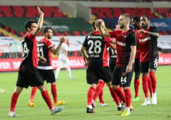 Gaziantep FK galibiyete hasret kaldı