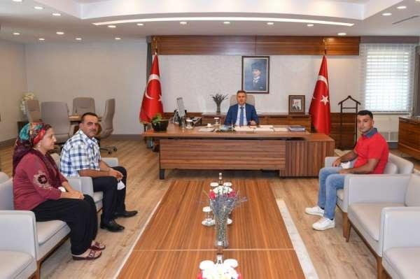 Vali Elban: 'Şehitlerimizin kıymetli aileleri bizlere emanettir'