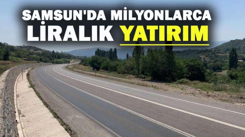Samsun'da milyonlarca liralık yatırım