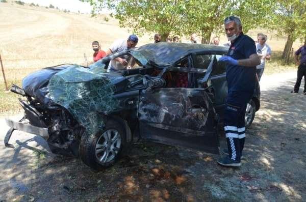 Taşköprü'de trafik kazası: 1 yaralı