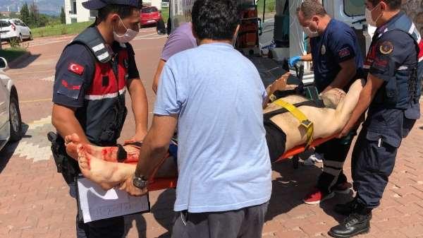 Cezaevinden ev hapsine çıkan vatandaşa evinde silahlı saldırı