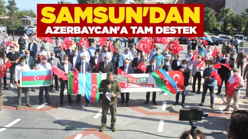 Samsundan Azerbaycana tam destek