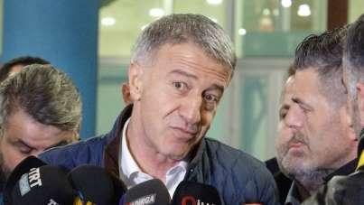Ahmet Ağaoğlu: 'İnşallah son dakikalarda kaybettiğimiz puanları aramayız'