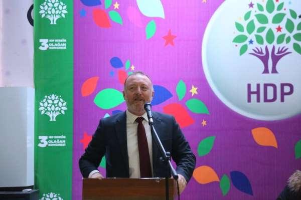 HDP'li Temelli, terörist başı Öcalan için 'sayın' ifadesini kullandı