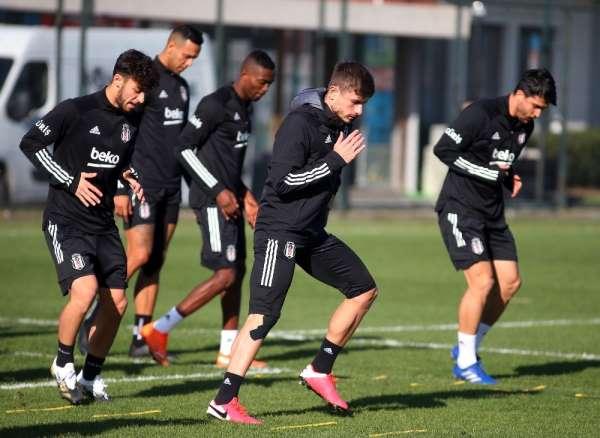Beşiktaş, Kayserispor maçı hazırlıklarını tamamladı