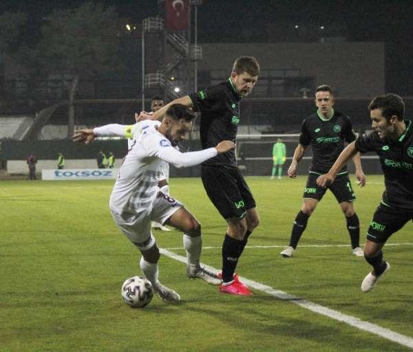 Süper Lig: A. Hatayspor: 1 - İH Konyaspor: 1 (İlk yarı)