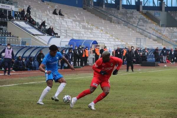 Süper Lig: BB Erzurumspor: 0 - Gaziantep FK: 0 (İlk yarı)