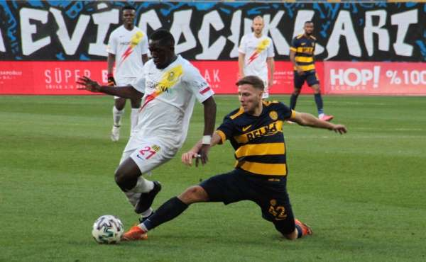 Süper Lig: MKE Ankaragücü: 2 - Yeni Malatyaspor: 0 (İlk yarı)