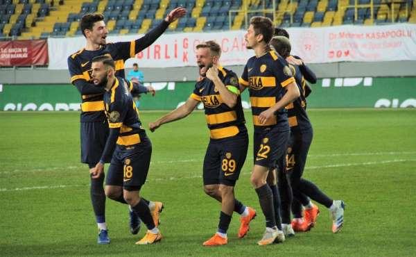 Süper Lig: MKE Ankaragücü: 3 - Yeni Malatyaspor: 1 (Maç sonucu)