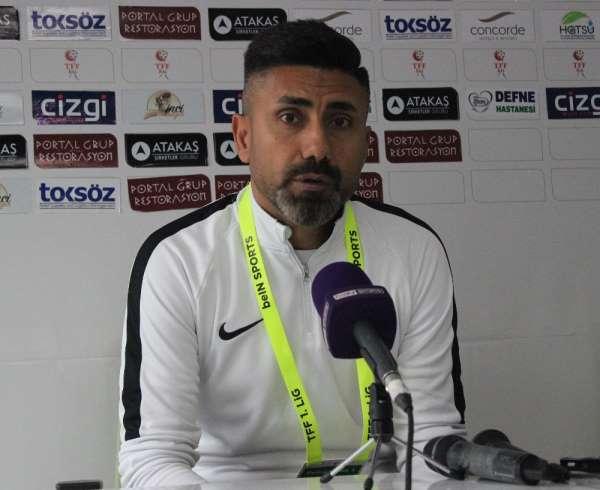 Hatayspor - Giresunspor maçının ardından