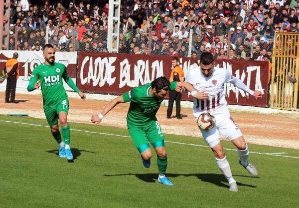 TFF 1. Lig: Hatayspor: 1 - Giresunspor: 1