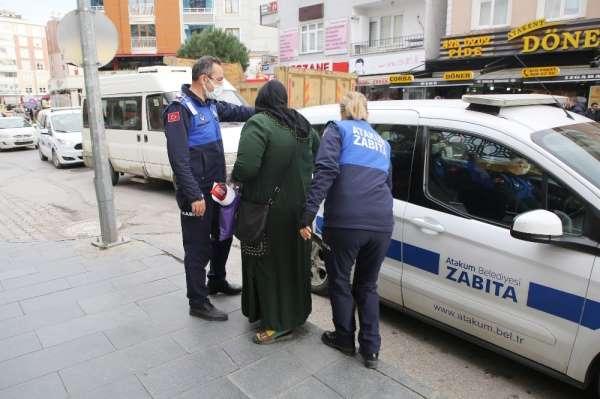 Atakumda dilenci operasyonu: 14 dilenciye suçüstü