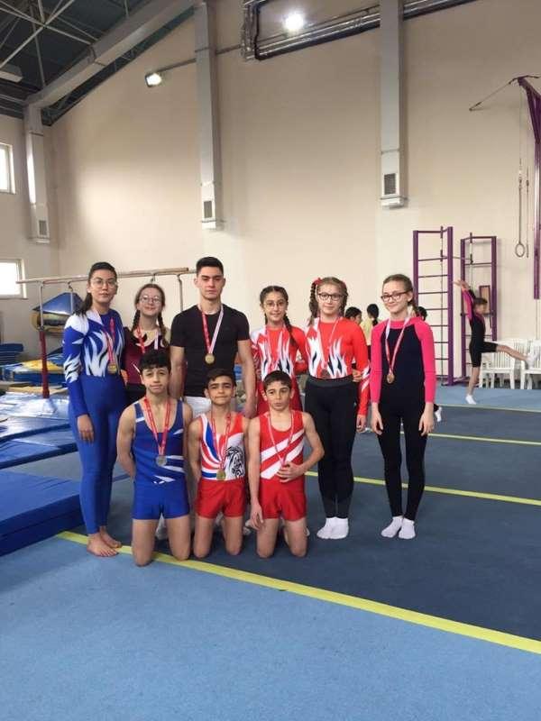 Artistik Cimnastik İl Birinciliği Müsabakaları Tamamlandı