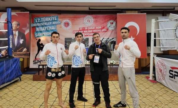 Atatürk Üniversitesi, Muay Thai'de kürsüden inmedi