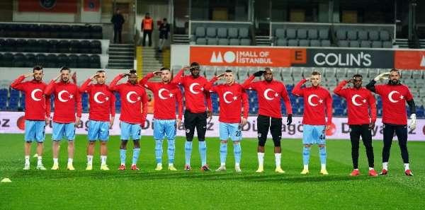 Gaziantep FK ve Başakşehirli futbolculardan Mehmetçik'e destek
