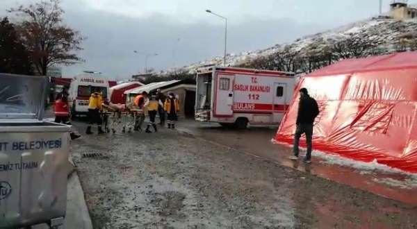Gürbulak sınır kapısında roketli saldırı