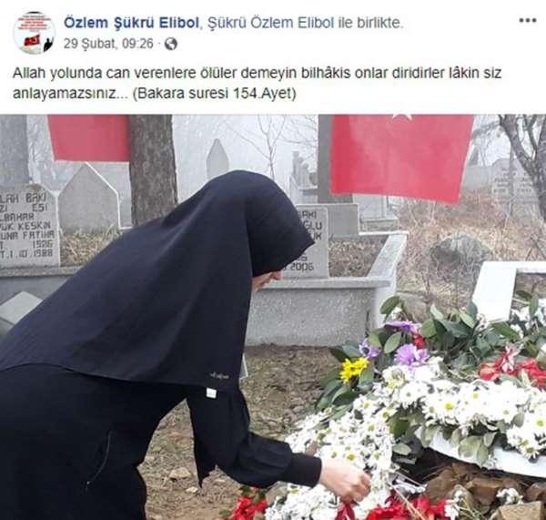 İdlib şehidinin 8 aylık hamile eşi: 'Rabbim bizi o kadar çok sevmiş ki'