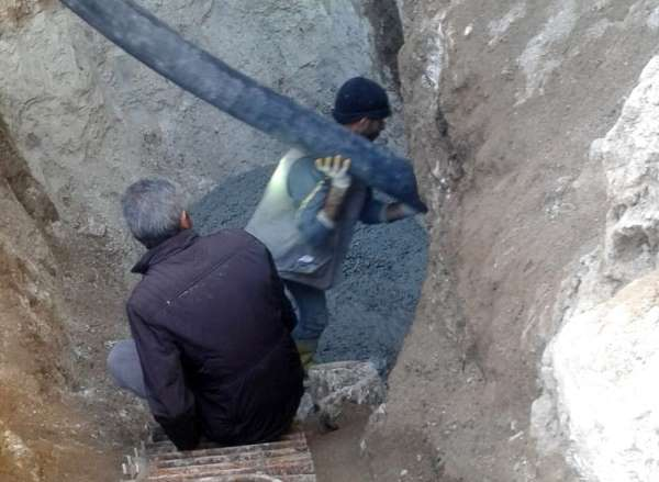 Resulayn'daki terör tünelleri kapatıldı
