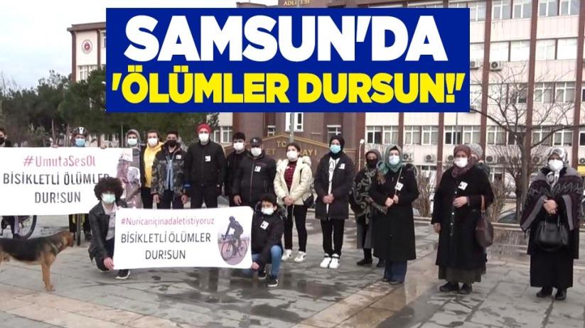 Samsun'da 'ölümler dursun!'