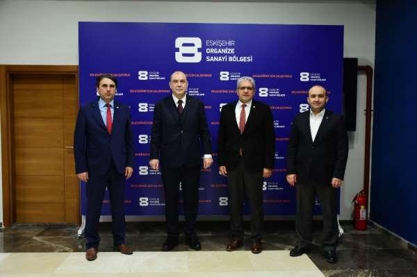 Başkanlar Eskişehir sanayisinin geleceğini konuştu