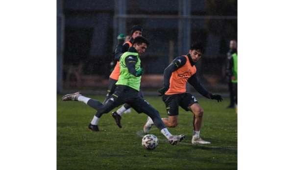 Bursaspor'da Boluspor maçı hazırlıkları devam ediyor